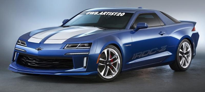 This Rendering of a Modern Chevy Camaro IROC-Z Is More Evidence That GM Could Do Better