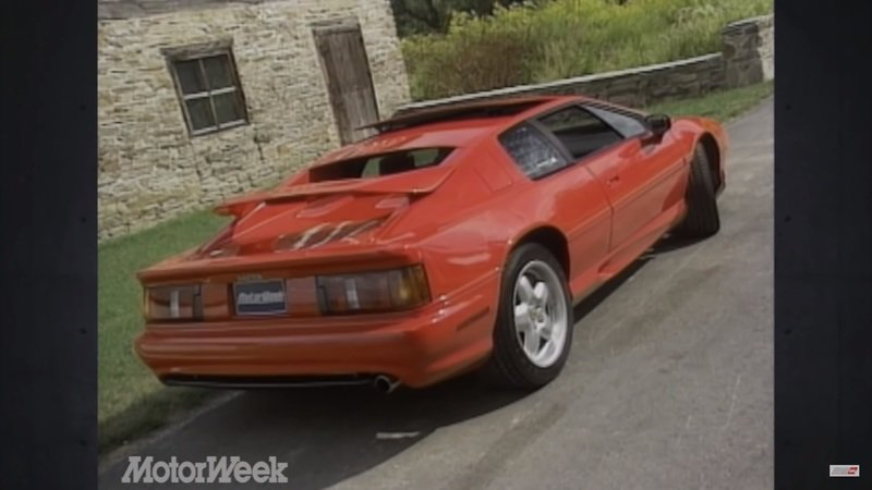 Throwback: 1994 Lotus Esprit S4 Video Review - image 931320
