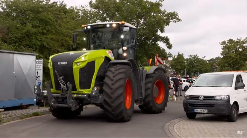 Watch a 500-horsepower Tractor Set A Lap Record at the Nurburgring