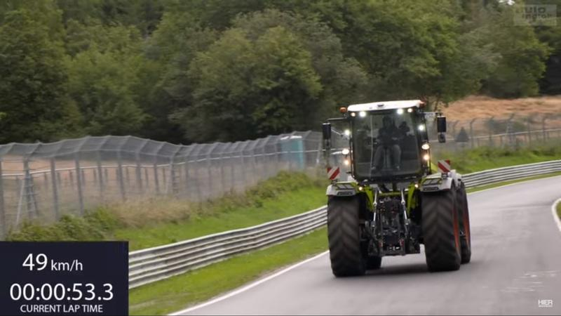 Watch a 500-horsepower Tractor Set A Lap Record at the Nurburgring - image 931627