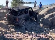 Watch How Well The 2021 Ford Bronco Handles Rock-Crawling - image 927265