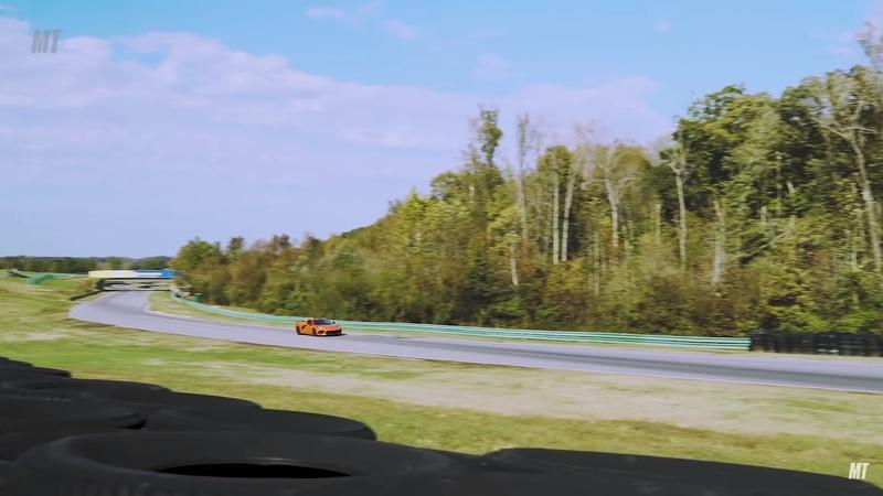 Watch Randy Pobst Drive the Mustang Shelby GT500 and Corvette C51 At the Same Time