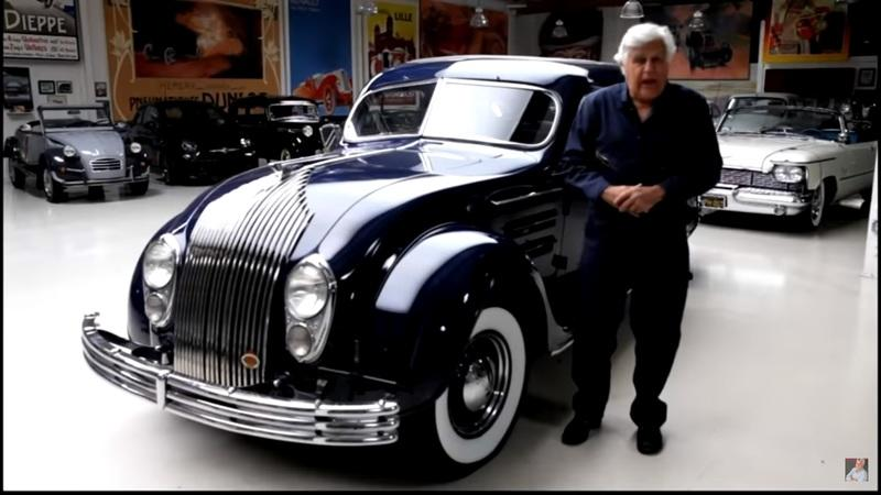 You Have to Check Out This 1934 Chrysler Airflow That Pulled Into Jay Leno's Garage
