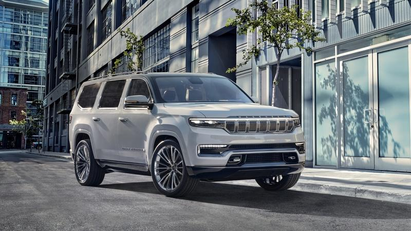 2020 Jeep Grand Wagoneer Concept