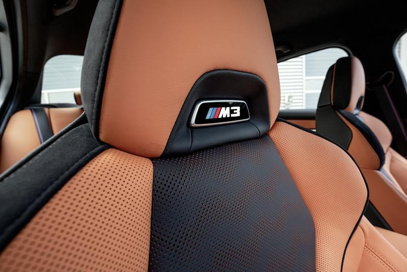 2021 BMW M3 Competition Interior - image 935353