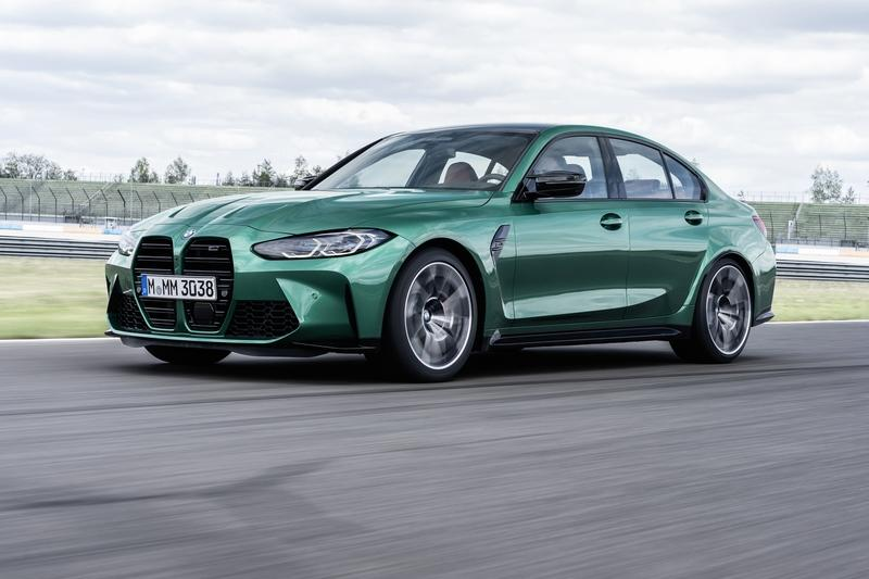 The 2021 BMW M3 Debuts With Massive Kidney Grille, Up To 503 Horsepower, And AWD