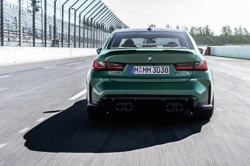 2021 BMW M3 Competition Exterior - image 935371