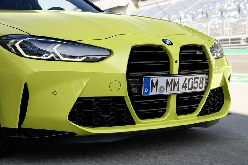 BMW's New Kidney Grille Doesn't Look as Bad on the All-New M4 As We Thought Exterior - image 935491