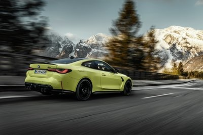 The 2021 BMW M4 Goes AWD, Packs Up to 503 Horsepower And Massive Grille