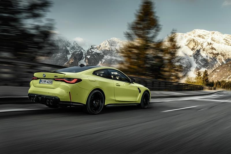 The 2021 BMW M4 Goes AWD, Packs Up to 503 Horsepower And Massive Grille Exterior - image 935441