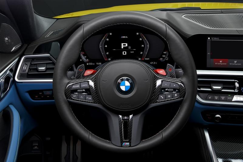 2021 BMW M4 Competition Interior - image 935530