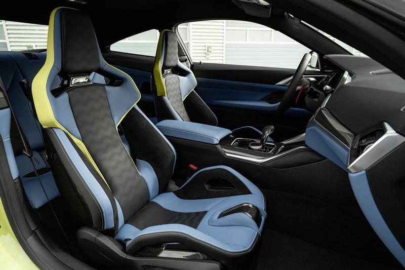 2021 BMW M4 Competition Interior - image 935500