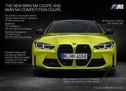 The 2021 BMW M4 Goes AWD, Packs Up to 503 Horsepower And Massive Grille - image 935433
