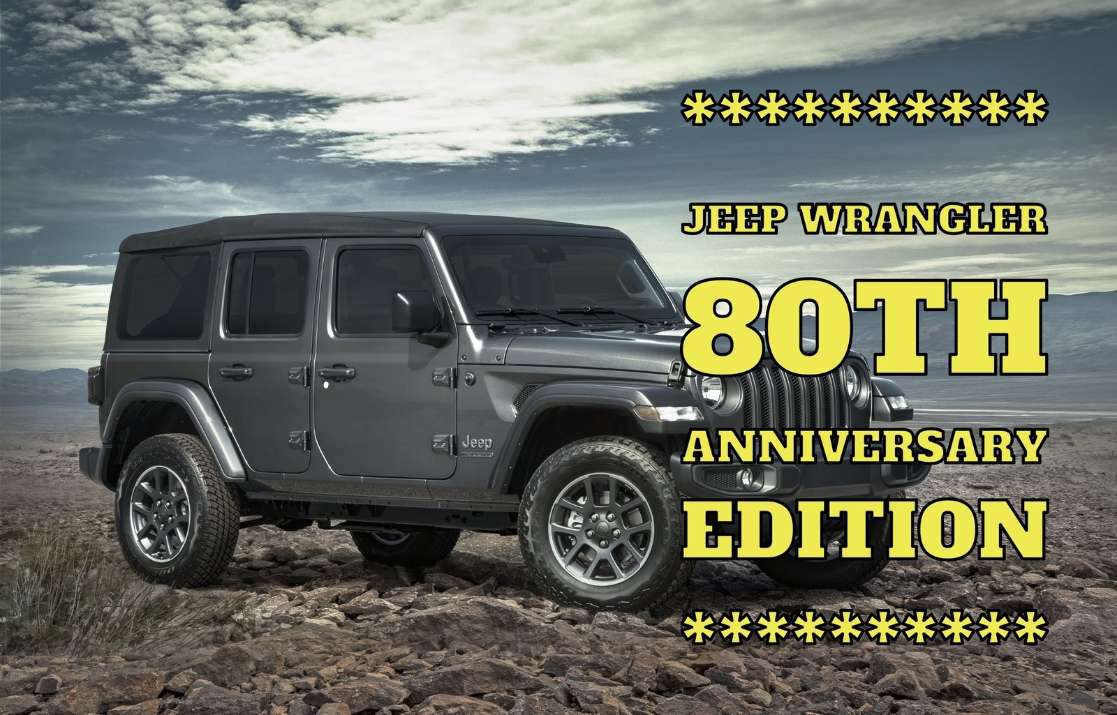 jeep wrangler 80th anniversary edition cars outside comes