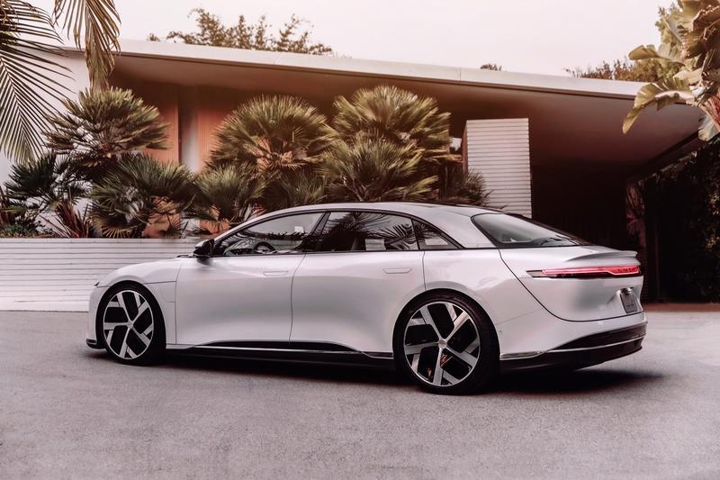 Lucid Officially Enters The EV Fray With Its First Offering Called The Air