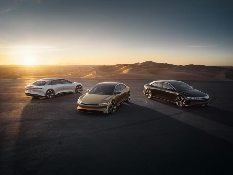 The Lucid Air Officially Takes Down The Tesla Model S To Become The 'Longest Range' EV With An EPA-Rating Of 520 Miles! Exterior - image 933901