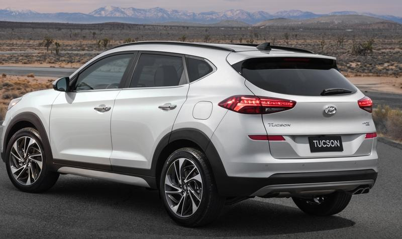 The Hyundai Tucson Has an All-New Look and Some Impressive Features