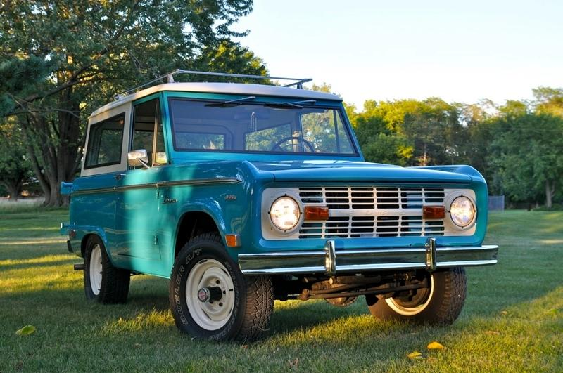 Amazing Car for Sale: 1969 Ford Bronco