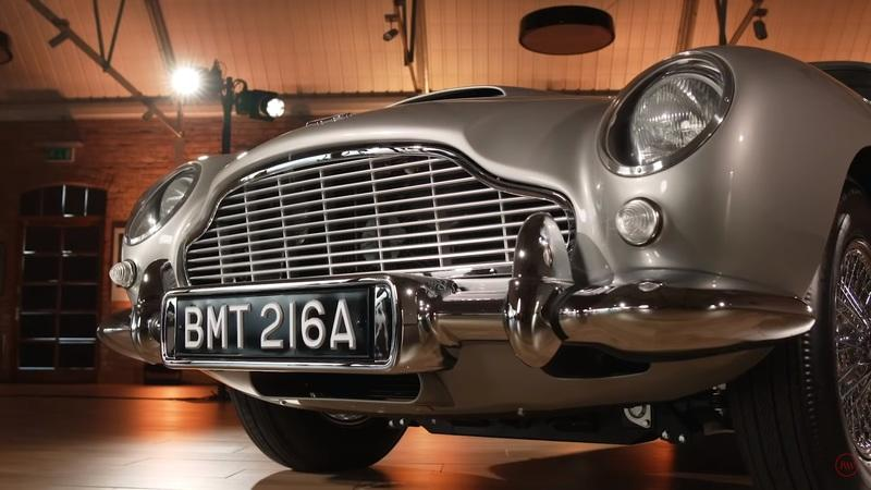 An Aston Martin DB5 With Real James Bond Gadgets Does Exist - image 933908