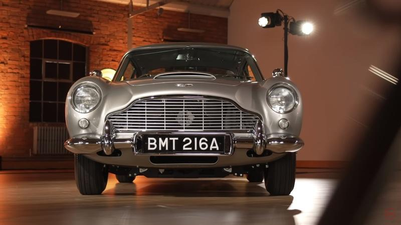 An Aston Martin DB5 With Real James Bond Gadgets Does Exist - image 933911