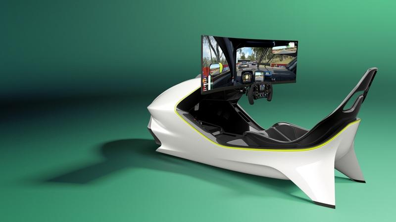 We'd Love to Play Forza Horizon In The Aston Martin AMR-C01 Racing Simulator - image 934695