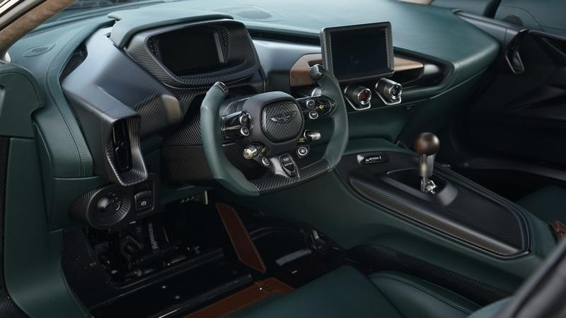 The Aston Martin Victor is a One-Off Supercar with Vulcan and One-77 Gear Interior - image 933267