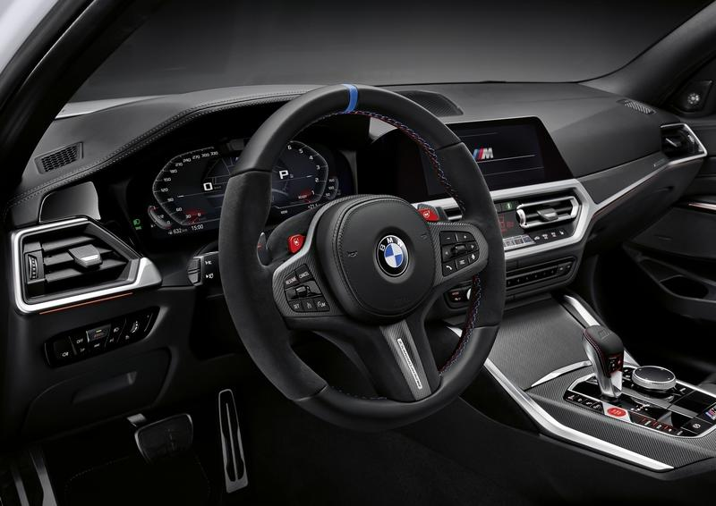 M Performance Parts for the BMW M3 and BMW M4 Take Extreme Even Further Interior - image 937006