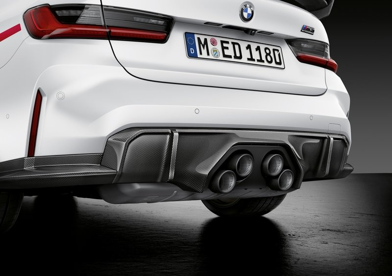 M Performance Parts for the BMW M3 and BMW M4 Take Extreme Even Further Exterior - image 936981