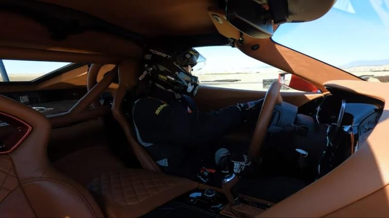 Check out the Genovation GXE C7 Corvette Silently Decimate Thunderhill West