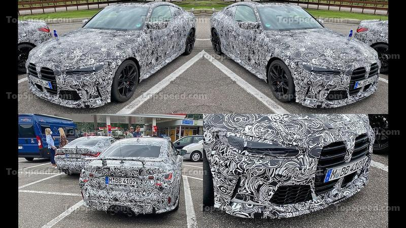 Check Out These Spy Shots for the Next-Gen BMW M4 GTS!