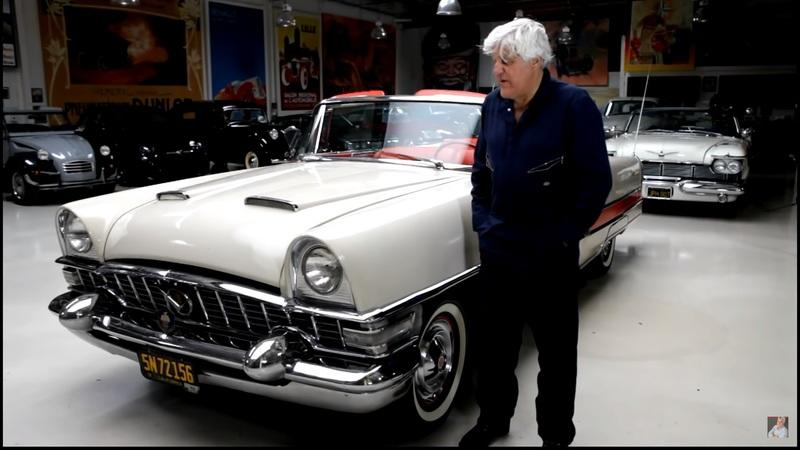 Check Out This 1955 Packard Caribbean That Rolled Into Jay Leno's Garage