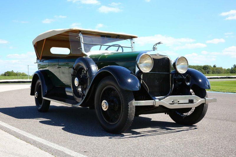 Cool Car For Sale: 1926 Lincoln Model L Dual-Cowl Phaeton
