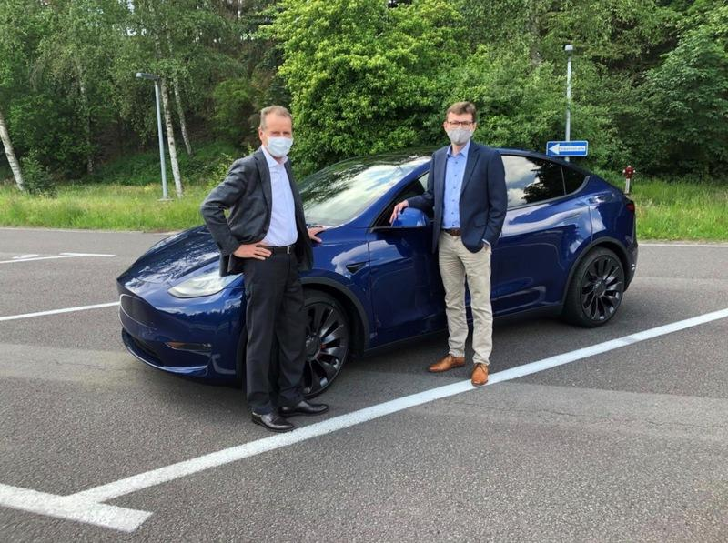 Could Volkswagen and Tesla Work Together on EVs in the Future?