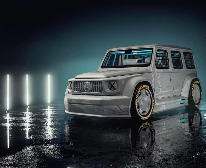 Did You Know You Needed A DTM-Inspired Mercedes-Benz G-Class? Neither DId We, Until Now