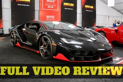 Doug DeMuro Reviews the Lamborghini Centenario And You Have to See It