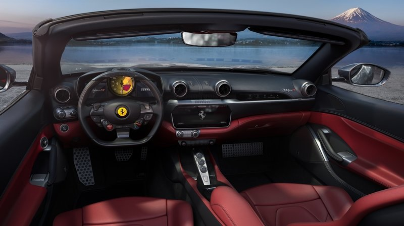 The Updated Ferrari Portofino Caries an M Badge, More Power, and a New Transmission Interior - image 935183
