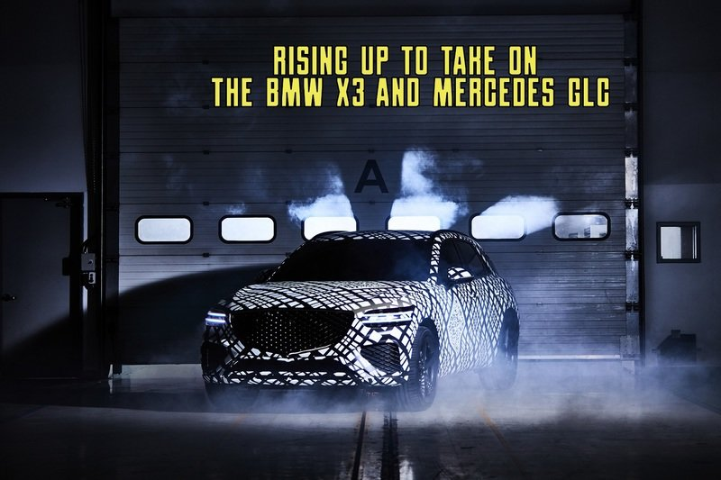 Genesis Just Revealed A Brutal Competitor for the BMW X3 and Mercedes GLC