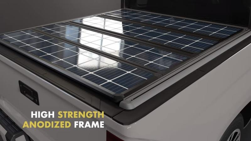 Here's The First-Ever Solar Panel Tonneau Cover