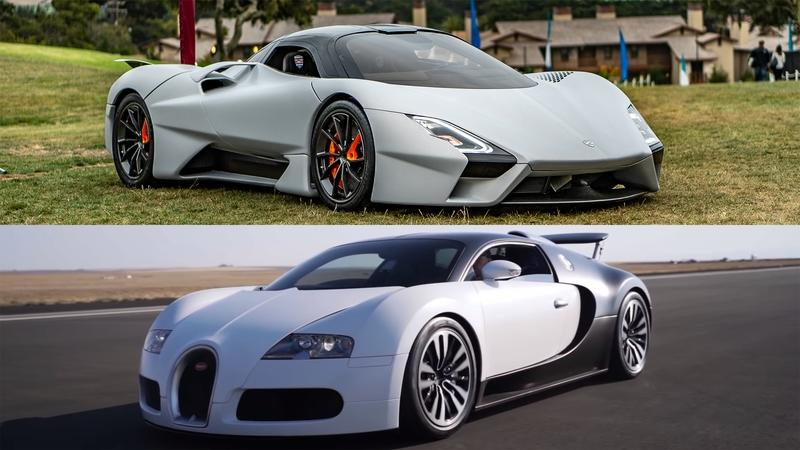 Hidden Within This 14-Minute Video is a Drag Race Between the Bugatti Veyron and the SSC Tuatara
