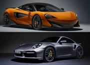 In Short Sprints The Porsche 911 Turbo S Will Always Be Faster Than a McLaren - image 936510