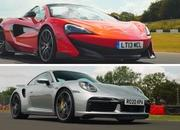 In Short Sprints The Porsche 911 Turbo S Will Always Be Faster Than a McLaren - image 936352