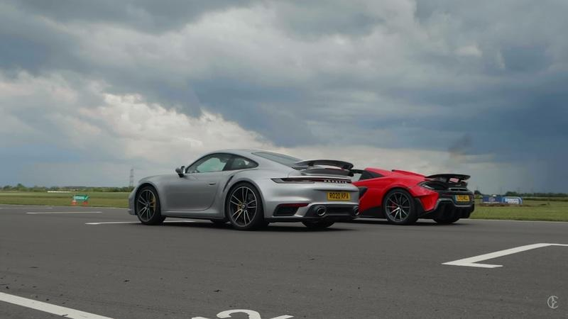 In Short Sprints The Porsche 911 Turbo S Will Always Be Faster Than a McLaren