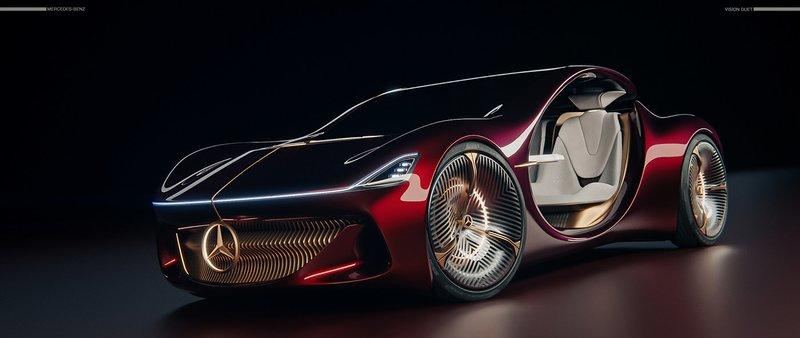 Is This Impressive Rendering A Look Into The Future of Mercedes?