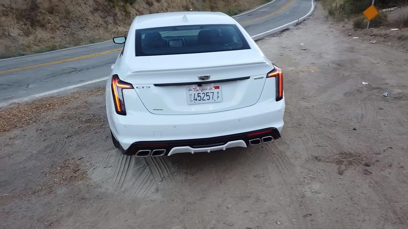 It Looks Like The Cadillac CT5-V Isn't Even Meant to Be a Performance Car - image 936545