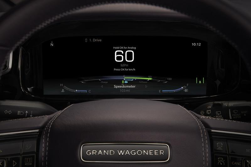 Jeep Grand Wagoneer Concept Features Not One Or Two, But Seven Big Screens Inside The Cabin