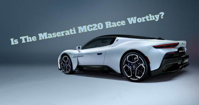 Maserati Wants The MC20 To Go Racing, Does It Stand a Chance?