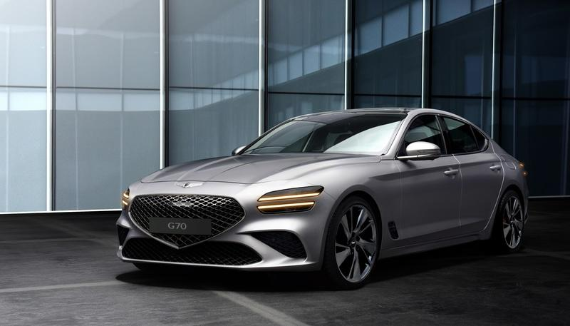 New Genesis G70 Arrives With New Athletic Elegance Design Philosophy