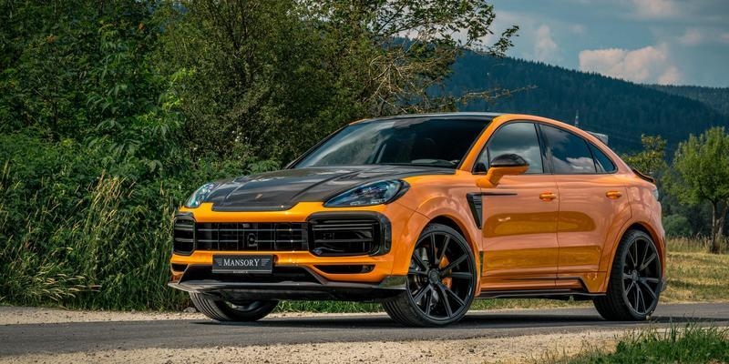 2020 Porsche Cayenne Turbo Coupe by Mansory