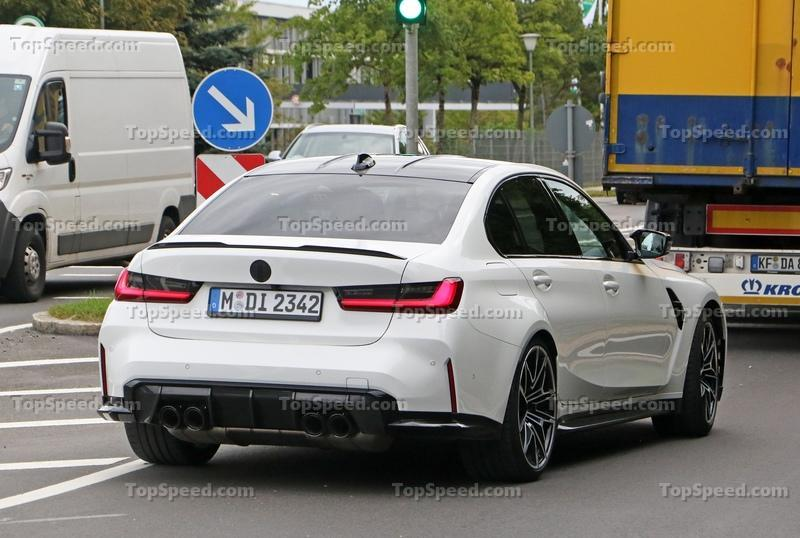 New Spy Shots Hint That BMW Is Still Trying to Fine-Tune the 2021 M3
