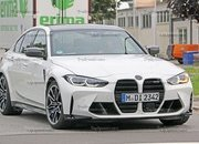 New Spy Shots Hint That BMW Is Still Trying to Fine-Tune the 2021 M3 - image 937659